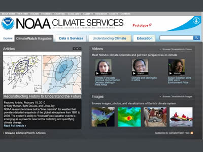 Obama Administration Establishes a National Climate Service and Portal