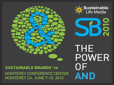 Missed Sustainable Brands '10? Read Our Round-up of SB '10 Posts from Around The Web