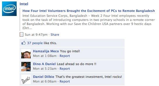 intel facebook